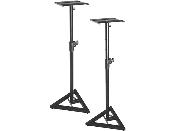 On-Stage SMS6000 Adjustable Monitor Stands PAIR - PAIR (2 stands)