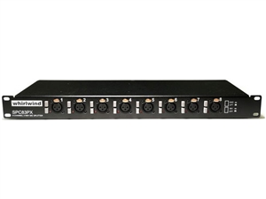 Whirlwind SPC83X - Splitter, 8ch 1direct 2-iso no phantom