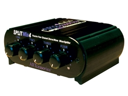 ART Audio SPLITMix4 - Four Channel Passive Splitter/Mixer