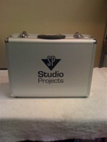 Studio Projects SPRC Spare Aluminum Road Case, for T3 tube mic