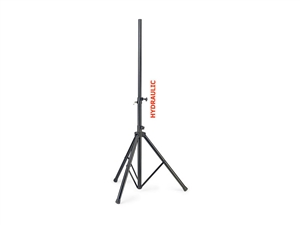 Stagg SPS60-ST LFT BK, Steel speaker stand with upward/downward hydraulic movement