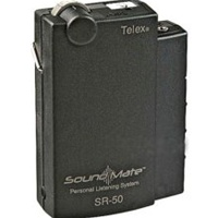 Electro-Voice SR-50-H, Single frequency personal receiver with beltclip
