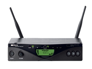 AKG SR470 Band9 (600.1-605.9, 614.1-630.5 MHz) Wireless Receiver for WMS470