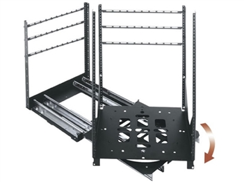 Middle Atlantic SRSR-4-12 - 12 Space Rotating Sliding Rail System. 300 LB Capacity