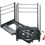 "Middle Atlantic SRSR-X-19 - 19 Space Rotating Sliding Rail System with 23"" depth. 200 LB Capacity"