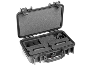 DPA ST2006C - Stereo Pair with two 2006C, Clips, Windscreens in Peli Case