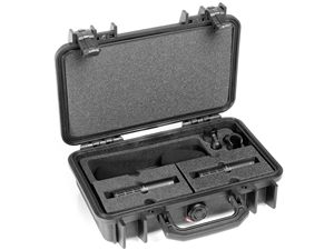 DPA ST2011C - Stereo Pair with two 2011C, Clips, Windscreens in Peli Case
