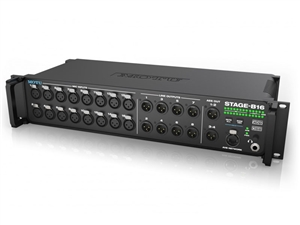 MOTU Stage-B16 - USB/AVB Ethernet audio interface with 16 input, 8 output and DSP