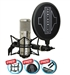 Sontronics STC-3X Pack Silver - Switchable Cardioid/Omni/Figure8 Condenser Microphone