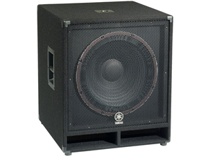 "Yamaha SW118V - Single 18"" Passive Subwoofer"