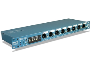 Radial SW8 - 8-Channel Line Level Auto Switcher