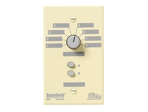 BSS SW9015US, 8 position source/preset selector, up/down pair (US) single gang wall controller