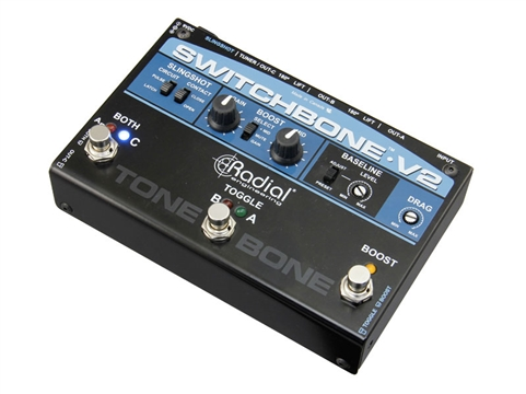 Radial Engineering Tonebone Switchbone V2 ABY/C Amp Selector and Booster