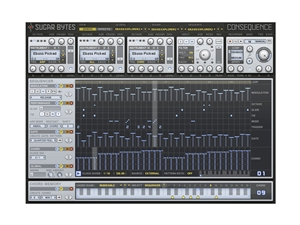 Sugar Bytes Consequence Massive Creative Chord-Pattern Groovebox