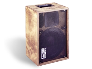 "Bag End TA1202-B - Oiled Birch 12"" 2-Way Portable Enclosure"