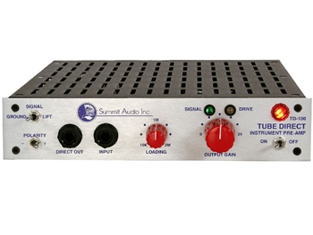 Summit Audio TD-100 Tube Direct Box Pre-Amp