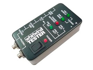 "Whirlwind TESTER - Audio Cable Tester- XLR, 1/4"" and RCA Connectors"