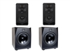 Adam Audio The Dresden Room - S5V Sub15 Matched 2.2 System