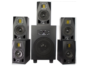 Adam Audio The Fogg - A3X Sub8 Matched 5.1 Surround System