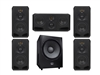 Adam Audio The Kolln - 4xS3V 1xS3H Sub2100 Matched 5.1 System