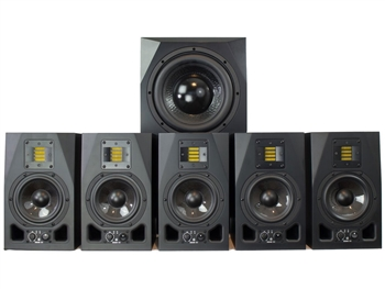 Adam Audio A5X Sub10 5.1 Bundle System, The Pie Town