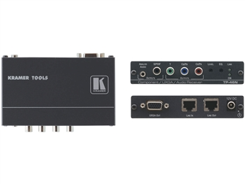 Kramer TP-46N Component Video or Computer Graphics Video with Audio over Twisted Pair Receiver