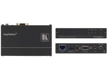 Kramer TP-580RXR - HDMI, Bidirectional RS-232 & IR over Extended Range HDBaseT Twisted Pair Receiver