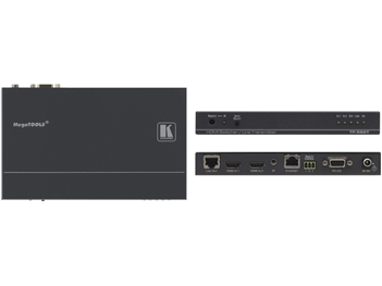 Kramer TP-582T - 2x1 HDMI Plus Bi-directional RS-232, Ethernet & IR over Twisted Pair Switcher/Transmitter