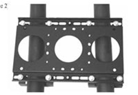 Chief TPK5, Truss Clamp Kit