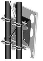 "Chief TPPU, Flat Panel Tilt Truss Mount (Up to 63"")"
