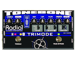 Radial Tonebone Trimode - Tube Distortion Pedal