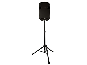 Ultimate Support TS-80B Tripod Speaker Stand, SINGLE