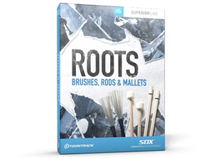 ToonTrack TT158 Roots SDX - Brushes, Rods & Mallets