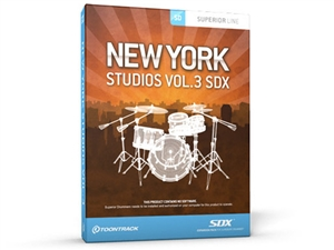 ToonTrack TT201 New York Studios Vol.3 SDX