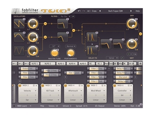 FabFilter Twin2, Synthesizer (Download)
