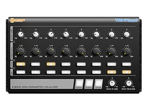 Tekit 8EQF 8-band semi-parametric equalizer