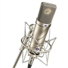 U87Ai Multi-Pattern Condenser Microphone Silver, with EA87MT shockmount, windscreen, and cable, Neumann