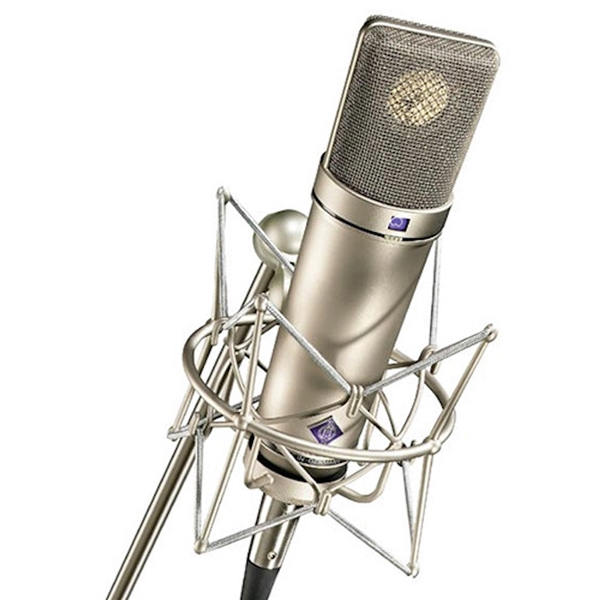 Neumann U87AI SET Z Multi-Pattern Condenser Mic, Silver, w/ EA87MT shockmount, windscreen, cable