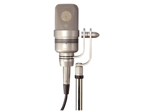 Microtech Gefell UM930 Dual Element Multi-Pattern Condenser Microphone with halfmoon swivel adaptor