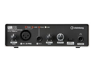 Steinberg UR12 - 2x2 Portable USB Interface