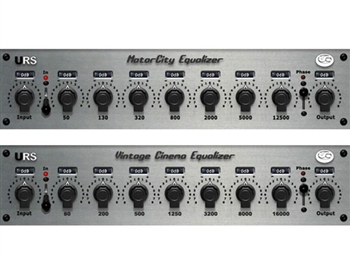 URS M series EQ Bundle Native - Motor City and Vintage Cinema Equalizers (Download Version)