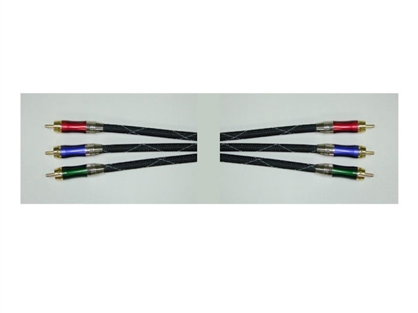 Hosa VCC-903 3ft Pro Component Video Cable with Webbing
