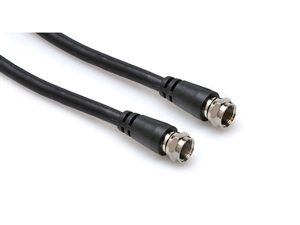 Hosa VDF-110 Video Cable - w /F-Connectors - 10 ft.