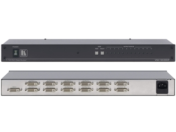 Kramer VM-12HDCP - 1:12 HDCP Compatible DVI Distribution Amplifier