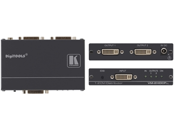 Kramer VM-2HDCPxl - 1:2 DVI Distribution Amplifier - HDCP Compliant