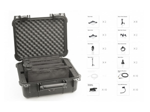 DPA VO10-Classic, d:vote 4099 Touring Kit, 10 Microphones, Low Sens High SPL