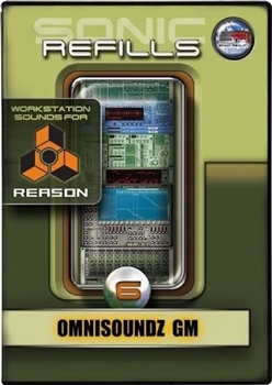 Sonic Refills Vol. 06 OmniSoundz GM Reason Refills from Snic Reality
