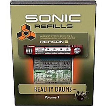 Sonic Refills Vol. 07- Reality Drums refills for REASON