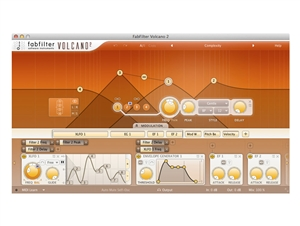 FabFilter Volcano 2, Filters with unique character plug-in (Download)