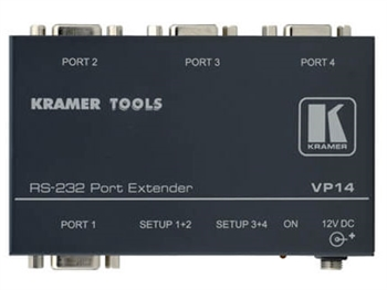 Kramer VP-14 - 4-Port RS-232 Port Extender